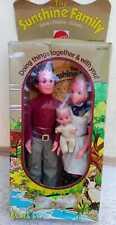 The sunshine Family, Bambole vintage Mattel, ancora confezionata