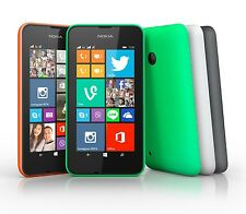 "NEU NOKIA LUMIA 530 GRÜN 4GB ENTSPERRT 4.0"" WINDOWS 8.1"
