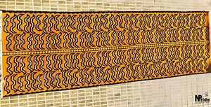 100knot -Traditional Tibetan Tiger Rug Carpet Runner  Wool  2x6ft - 60x180