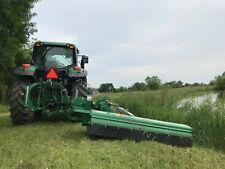 "Hwy & Roadside Ditch Bank Flail Mower: Peruzzo Bull Cross 2000E, 78""Cut,75-125Hp"