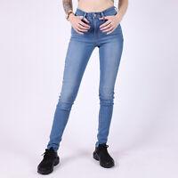 Levi's High Rise Skinny Damen Blau Jeans DE 32 / US W24 L32