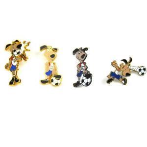 Football World Cup USA 94 Striker Mascot Collectors Pin Badge Bundle FREE Post