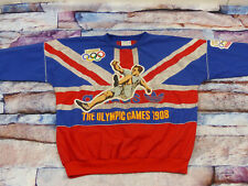 *ADIDAS OLYMPIA PULLOVER*1948 LONDON*ENGLAND*UNION JACK*UK*TORSION*GR XL*TIP TOP