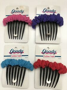 Vintage 90s GOODY Fashion Combs Hair Style NOS 1993 Long Hair Curly Movie Prop