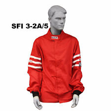 FIRE SUIT SFI 3-2A/5 JACKET 2 LAYER CLASSIC RED 4X RJS RACING XXXXL