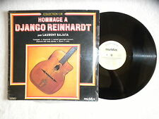 "LP LAURENT BAJATA ""Hommage a Django Reinhardt"" MUSIDISC 30 CO 1437 FRANCE µ"