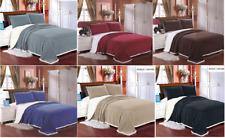 Luxurious Reversible Sherpa Mermaid OverSized Bed Blanket / Comforter Ultra Soft