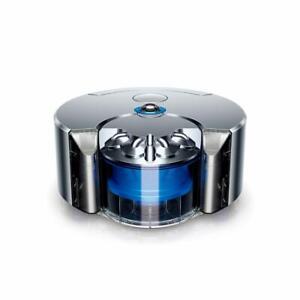 Dyson 360 Eye RB01NB Robot Vacuum Cleaner Cyclone Nickel Blue unused