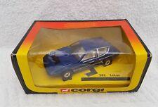 Corgi 382 lotus elite 2.2 boxed from 1981