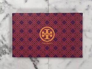 """Tory Burch Medium Pink & Purple Print Accessories Storage Gift Box 11"""" x 7"""" x 2"""""""