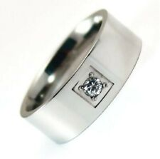 Men's Ring Comfort Fit Band 316L Surgical Steel Size 11 Brand New