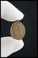 † 1846 BVM - OUR LADY of LA SALETTE BRONZE MEDAL PENDANT MARIAN APPARITION †