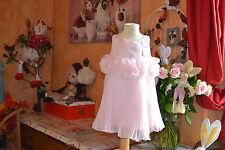 robe repetto neuve doublee petale 2 ans rose chausson
