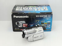 PANASONIC NV-GS70 CAMCORDER BOXED 3CCD MINI DV DIGITAL TAPE VIDEO CAMERA GS70B