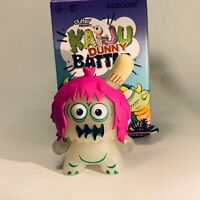 Kidrobot Clutter Kaiju Battle Dunny RARE GID UGLY UNICORN 3in Mini Vinyl