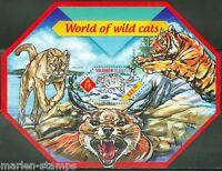 SOLOMON ISLANDS 2014 WORLD OF WILD CATS SOUVENIR SHEET  MINT  NH