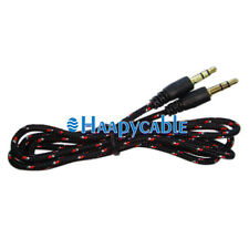 New 3.5mm Male to Male Stereo Audio Car Aux Auxiliary Cable for Pc iPod Phone