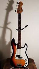 Encore 'Precision Type' Bass Guitar Sunburst SECOND HAND EN CB AZ 51