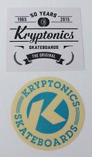 Kryptonics Skateboard 2 Sticker Aufkleber (S08)