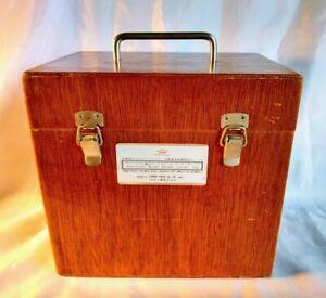 Vintage SALESMAN'S CASE for Decorative Parts for Automobiles ~ JAPAN
