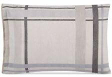 NEW - Hotel Collection Modern Plaid STANDARD Pillow Sham (Beige) MSRP $185