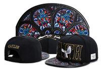 New Men Cayler Sons Cap Baseball Snapback Hip hop Adjustable Bboy Black Hat 220#