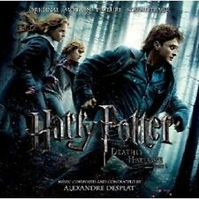 HARRY POTTER THE DEATHLY HALLOWS CD SOUNDTRACK NEW+