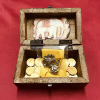 Amuleto Tailandés Caja del Dinero - Thai amulet money box