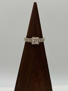 Solid 14k Gold Ring with 1.35 ct Natural Diamonds