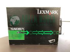 LEXMARK 12A6360 Standard Yield Black Toner Cartridge