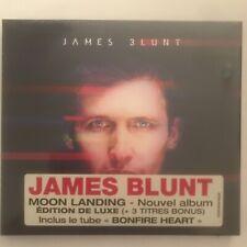 James Blunt Moon Landing Deluxe Ausgabe CD 14 Titel Neu Versiegelt