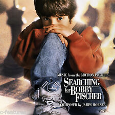 SEARCHING FOR BOBBY FISCHER James Horner CD Soundtrack LA-LA LAND Ltd Score MINT