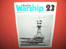 Warship Profile 23, HMS Furious-the First Eight Years
