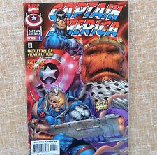 Comic, Captain America, no. 6, Vol. 2, Marvel Comic, year 1997, Rob Liefeld