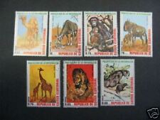 SERIE 7 ANIMAUX  D'AFRIQUE    GUINEE EQUATORIALE