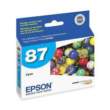 Genuine Epson T0872 cyan R1900 ink T087 87 T0872 T087220 R 1900 C13T087220
