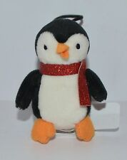 NEW BATH & BODY WORKS PENGUIN ORNAMENT HANGER STUFFED ANIMAL LIMITED EDITION HTF