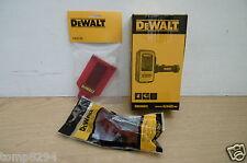 DEWALT DE0892 DETECTOR DE0730 TARGET CARD & GLASSES FOR RED LASER LINE LEVELS