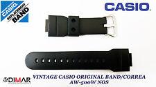 VINTAGE CASIO ORIGINAL  BAND / GURT/UHRARMBAND AW-500W NOS