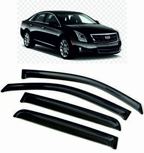 For Cadillac XTS I SD 12-17 Window Visors Sun Rain Guard Vent Deflectors Shades