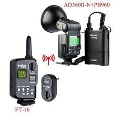 Godox Witstro AD360II-N TTL 360W GN80 Portable Speedlite Flash Light Trigger Kit