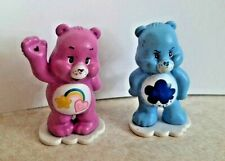 Vintage Care Bears Grumpy Sunshine Rainbow Bear Figure 1983 Miniature Mini TCPC