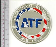 ATF K-9 Accelerant Detection Canine ADC Dog Sniffing Team Alcohol Tobacco Firear