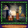 CerridwenTapestry, Goddess Altar Cloth, Celtic Goddess Curtain, Pagan Wicca