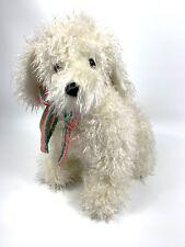 "14"" Fluffy Plush The Gingham Dog And The Calico Cat Christmas Story Toy DOG HTF"