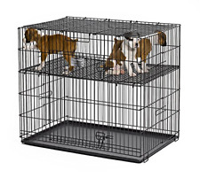 "MidWest Puppy Playpen with 1/2 Inch Mesh Floor Grid, 24""L model 224-05"