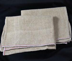 Pack of 2 Window Cleaning Scrim Grade1 Prewashed Hemmed Linen Cloth 84 x 40cm