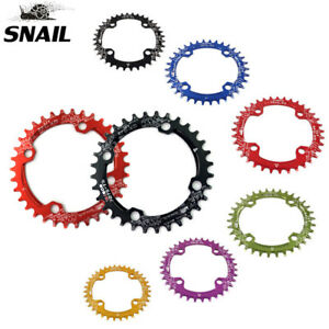 SNAIL 104BCD 32-42t Bike Chainring Round/Oval Narrow Wide Cycling Chainwheel