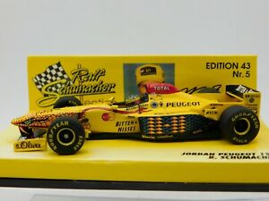 1/43 Minichamps 1997 Jordan Peugeot 197 #11 R. Schumacher #514974311