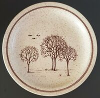 Homespun Stonecast by Churchill Trees Dinner Plate Staffordshire England 10""